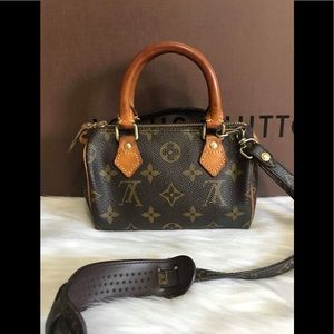 Authentic Louis Vuitton Mini speedy monogram